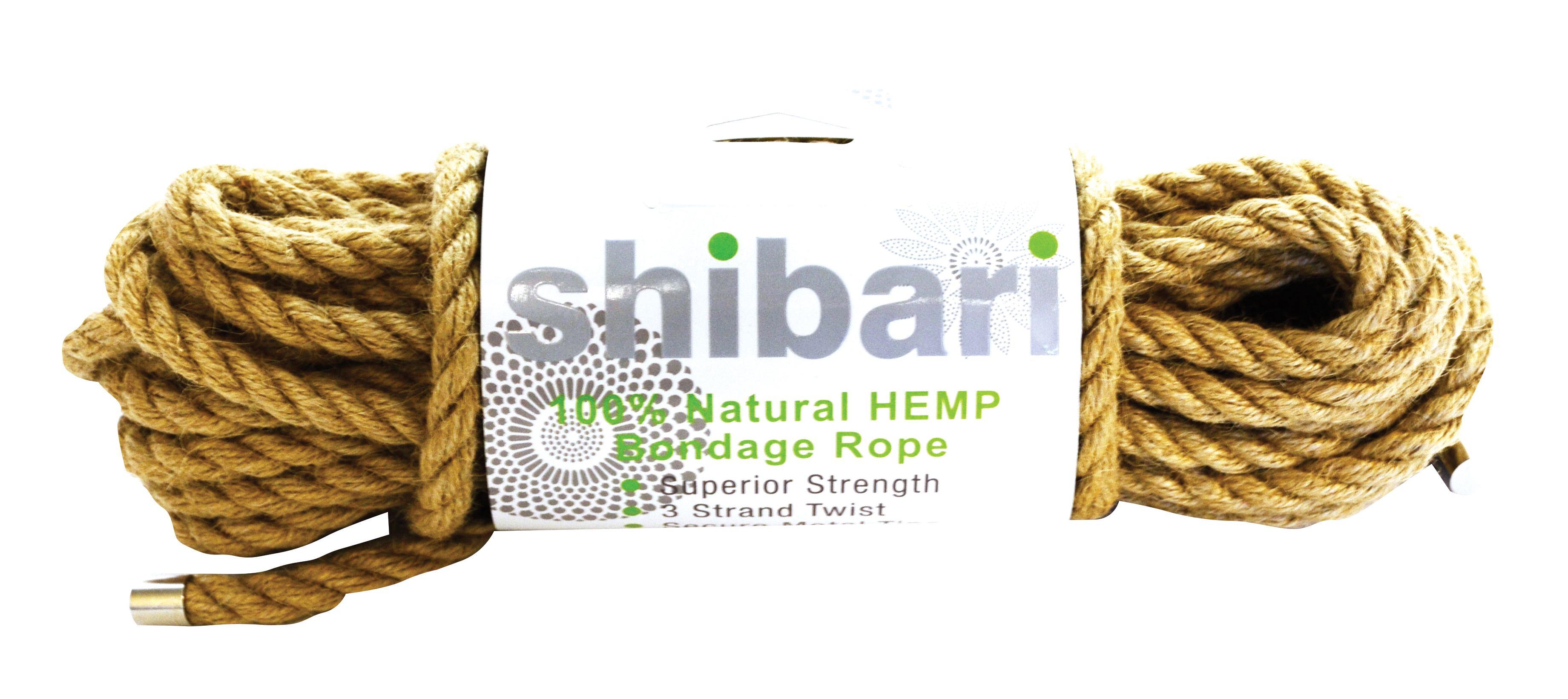 Shibari Rope 100% Natural Hemp 10m