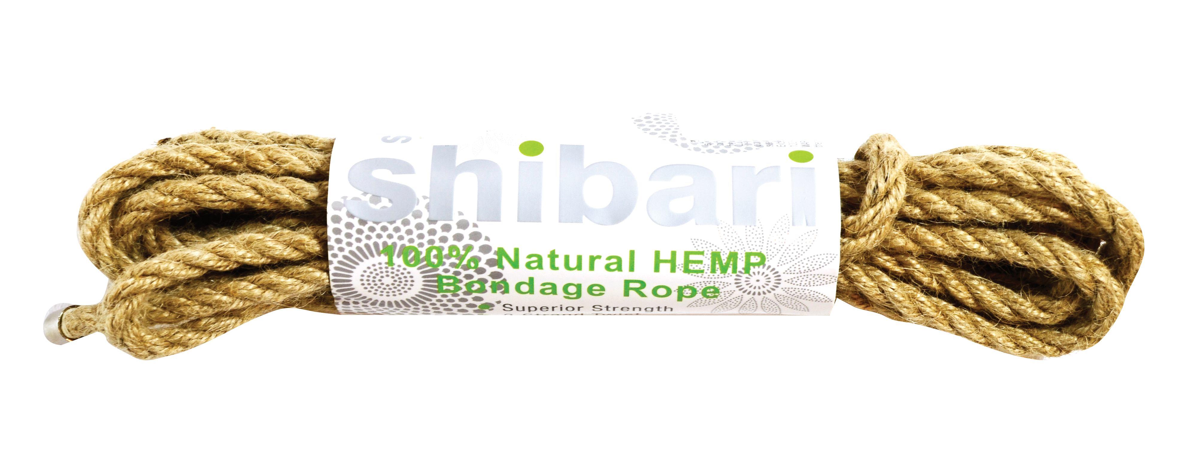 Shibari Rope 100% Natural Hemp 5m