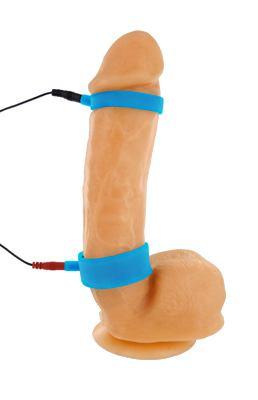 Zeus Uni-Polar Electrosex Cock Ring Set