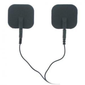 Zeus Deluxe Black Electro Pads 2-Pack